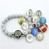 女の子2016の方法ブレスレットのための急なボタンの真珠の宝石類デザイン