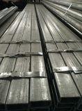 Pipe Q235 en acier rectangulaire galvanisée