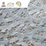 Половинная ткань шнурка картины круга, шнурок вышивки для тканья и платье 2017 E20042