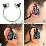 Écouteur sans fil de Bluetooth de sport portatif de pli