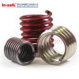 ステンレス鋼の締める物M8 DIN Standardedワイヤー糸の挿入