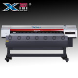 크 체재 잉크젯 프린터 Dx5 인쇄 헤드 X6 1600/Eco 용매 인쇄 기계