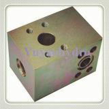 Hydraulische Flansch-Verbinder-und Block-Bauteile