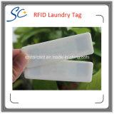 Étiquette de blanchisserie de silicium d'IDENTIFICATION RF de fréquence ultra-haute avec la température élevée résistante