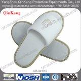 Pantoufles sans glissière en coton jetable jetables