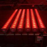 lumière de lavage de mur des couleurs DEL de modification de 18X12W RGBW DMX d'intérieur