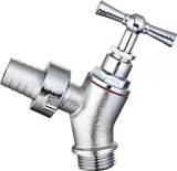 Le robinet à tournant sphérique en laiton manuel d'amorçage mâle d'arrêt
