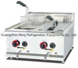 Frigideira das microplaquetas do gás do aço inoxidável para o restaurante ou a loja do fast food de Kfc