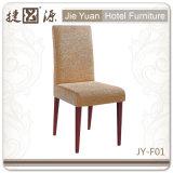 Деревянный стул Funiturer столовой трактира гостиницы металла отделки (JY-F01)