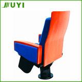 Deckel-GewebeVorlesungssal des Falz-Jy-906 mit Tablette-Theater-Stuhl