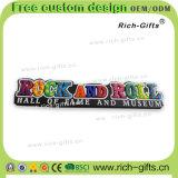 Rock personnalisé de souvenir d'aimants de réfrigérateur de PVC de cadeaux de décoration (RC- USA)