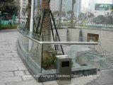 Hochwertiger Edelstahl-Treppenhaus-Handlauf des Baumaterial-304