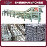 アルミ合金のインゴット製造業機械