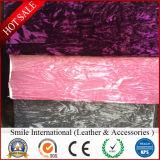 단화를 위한 좋은 품질 PVC 인공 가죽