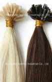 O cabelo Keration da qualidade superior U-Derruba, Eu-Derruba, cabelo do prego, extensão lisa do cabelo humano da ponta