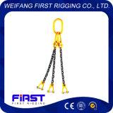 Ноги оборудования G80 высокопрочные 3 поднимая грузоподъемную цепь