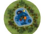 De gebruikte Apparatuur van de Speelplaats van Kinderen Commencial Openlucht voor Verkoop (yl-W018)