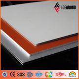 Grado (B1 incombustible, A2) del franco de la capa del PE PVDF del modelo el panel compuesto de aluminio de madera (ACP)