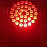 36PCS*10W 4in1 LED 세척 이동하는 맨 위 가벼운 급상승
