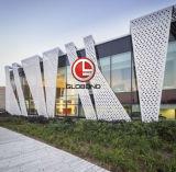 Globond a percé le panneau en aluminium pour la façade Decpration