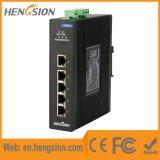 los accesos de Tx de 5 Megabites 1gbps manejaron el interruptor industrial de la red de Ethernet