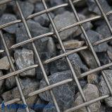 Engranzamento de fio da parte superior lisa de aço inoxidável da alta qualidade para a indústria pesada