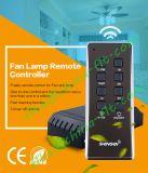 2016 het Nieuwe Digitale Lichte Verre Controlemechanisme van de Plafondventilator