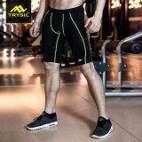 メンズ能動態の不足分の夏の体操のショートパンツの適性の摩耗