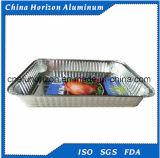 Контейнеры алюминиевой фольги домочадца для выпечки