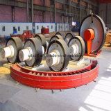 ロータリーキルンおよび回転乾燥器のためのISOの証明書の上部転輪