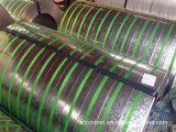 Bobina de acero galvanizada sumergida caliente del soldado enrollado en el ejército de la bobina del galvanizado de SPCC