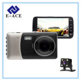 Zwei Kameraobjektiv 4.0 Zoll-Selbstgedankenstrich-Nocken-Videogerät-Auto DVR