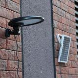 IP65 Waterproof a luz ao ar livre psta solar do sensor de movimento de 56LED PIR para a jarda/jardim/caminho com conetor da C.C. e o painel solar do External 5W