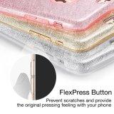 형식 호화스러운 방어적인 잡종 아름다움 수정같은 모조 다이아몬드 불꽃 반짝임 iPhone 6s를 위한 단단한 다이아몬드 상자 덮개