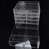 Изготовленный на заказ ясная акриловая коробка хранения