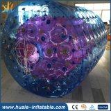 Sfera di rotolamento gonfiabile, rullo gonfiabile dell'acqua, sfera ambulante dell'acqua per divertimento