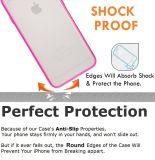 """クリアバックの堅いカバー細い適合の5.5とiPhone 6のためのスクラッチ抵抗力がある豊富なケースの皮"""""""