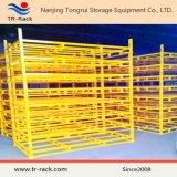 Stockage d'entrepôt Empilage Plateau de pneu professionnel en métal pliable