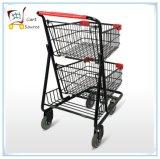 American Double Supermercado Trolley Carro de la Compra Carro de la Compra