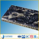 Spezieller Entwurfs-Stein-Granit-Aluminiumbienenwabe-Panel für Baumaterialien