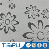 tela que hace tictac del colchón del telar jacquar del hilado del color del control de la temperatura del algodón 350GSM DTY