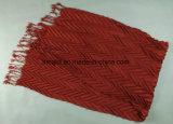 Krepp-Windung-feste gefärbte Schal-Troddel AcrylScarve für Damen (ABF22005101)