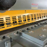QC11k 8mm2500mm hydraulische Guillotine-scherende Maschine für das Stahlmetallscheren