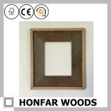 De vierkante Bruine Decoratie van het Frame van de Foto van de Gift met Hout Soild