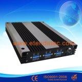 tri repetidor de la señal de la venda de 30dBm 85dB 2g/3G/4G GSM/Dcs/WCDMA