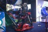 Vettura da corsa della galleria di Mantong dei giochi delle macchine del simulatore a gettoni di movimento
