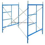 Andamios marco de acero para la construcción de edificios