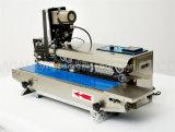 Grande calor contínuo automático do saco de plástico - máquina da selagem com impressora da fita