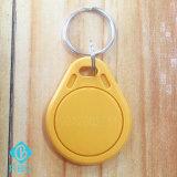Etiqueta compatible OCULTADA T5577 de Keyfobs de la viruta de RFID con código del laser