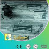 Vinylplanke-Walnuss-weiße Eichen-lamellierter lamellenförmig angeordneter hölzerner Bodenbelag